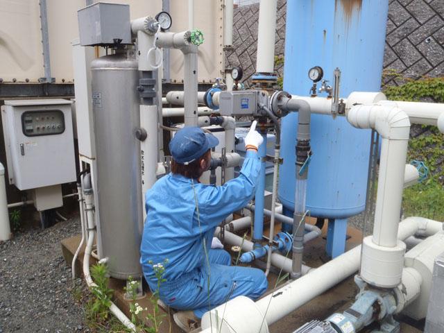 貯水槽清掃作業及び管理