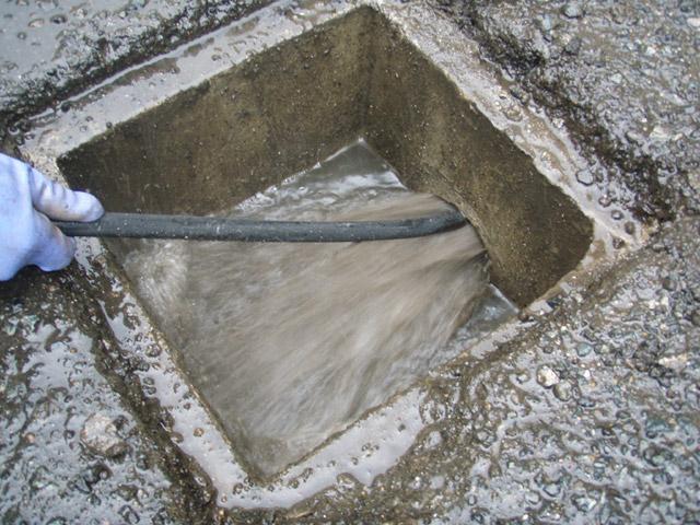 雨水高圧洗浄