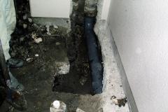 埋設排水管取替