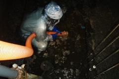 汚水槽清掃