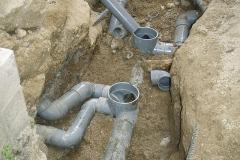 汚水管改修工事