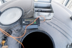 槽内酸素及びガス測定